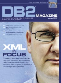DB2 Magazine cover image