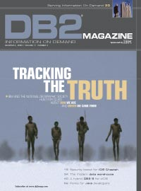 DB2 magazine front cover